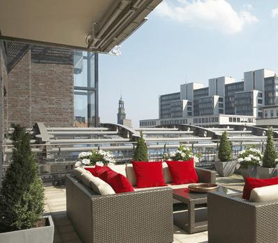Beispiel: Terrasse, Foto: East Hotel.