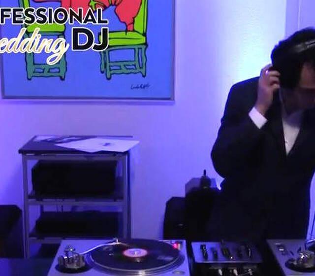 DJ set con vinili
