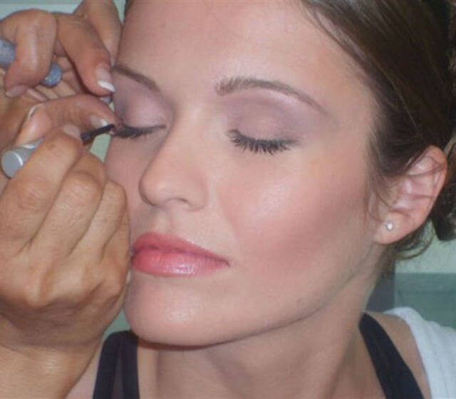 Beispiel: Das Make-up für Ihre Hochzeit, Foto: Make me up.