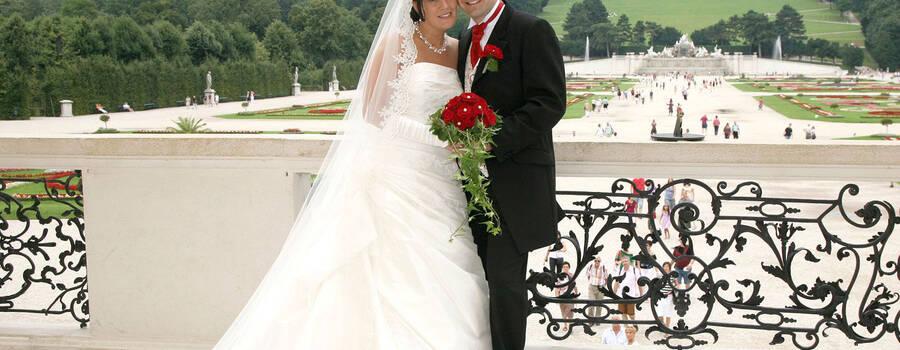 Beispiel: Brautpaar, Foto: the wedding planner.