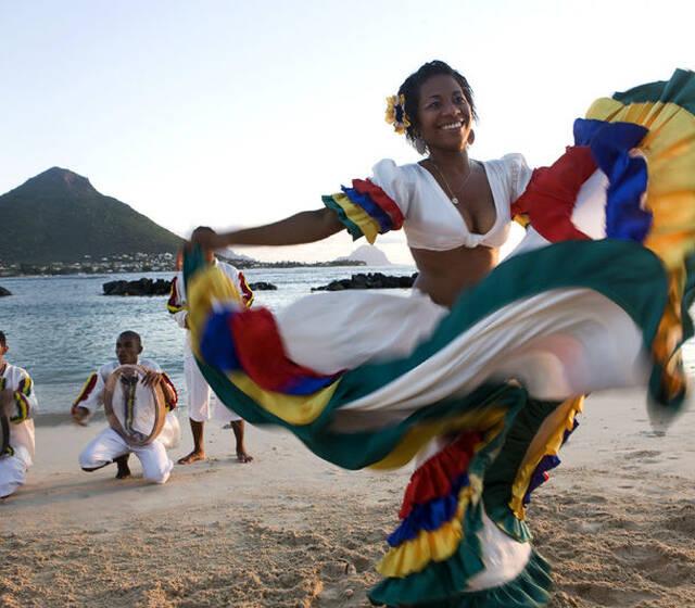 Danseuse de Sega - Ile Maurice