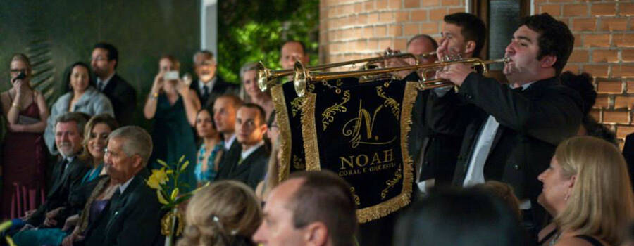 Noah Coral e Orquestra. Foto: V2 Fotografia
