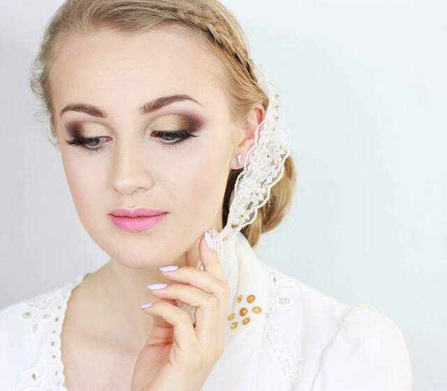 makijaż ślubny do stroju góralskiego