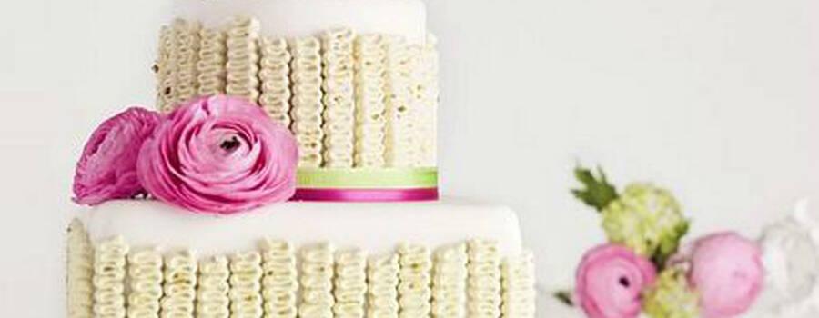 Beispiel: Wunderschöne Hochzeitstorten, Foto: Nicola Fürle.