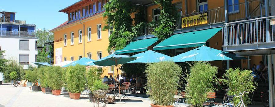 Beispiel: Außenansicht, Foto: Restaurant Süden.