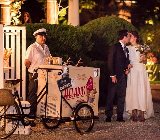 Tricyclo de helados.
