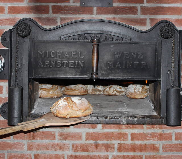 Holzbackofen; Foto: Scheunenwirtin