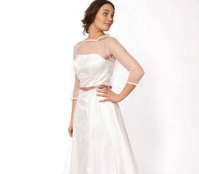 Beispiel: Brautkleid Liz, Foto: JAAP Brautmode.