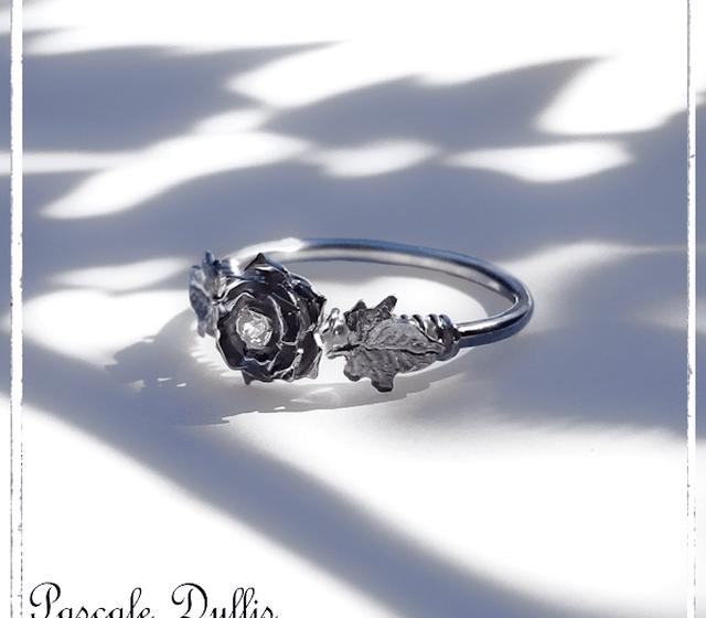 Bague fiançailles Rose ©PascaleDyllis