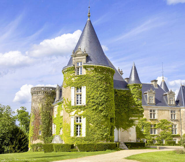 Château en Dordogne Salle de Mariage