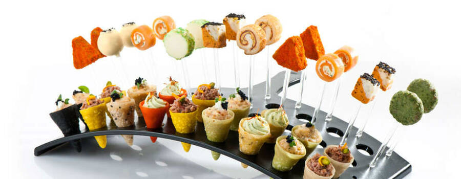 Beispiel: Fingerfood, Foto: Unikorn Catering & Events.