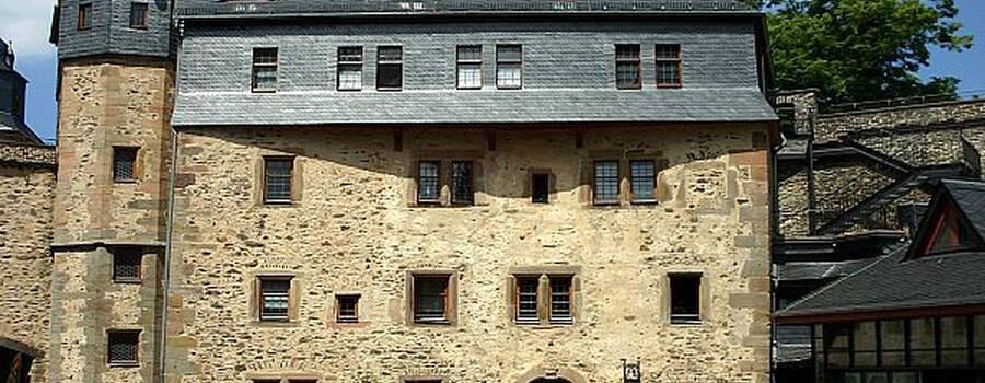 Beispiel: Vorderansicht, Foto: Schloss Romrod.
