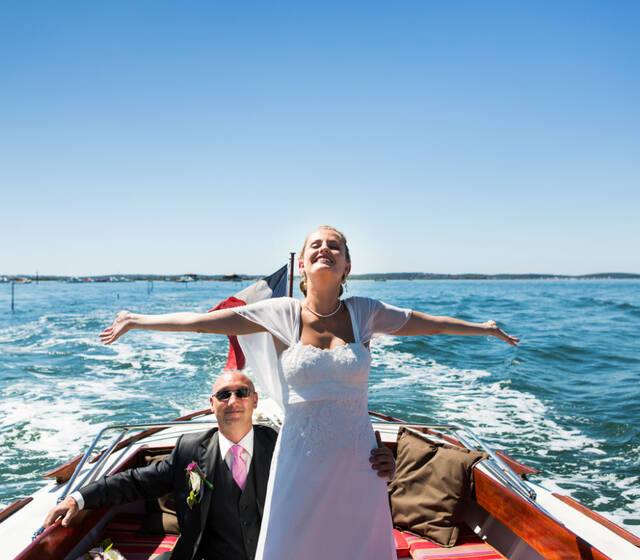Wedding planner bassin d'Arcachon Jarretiere in the Air