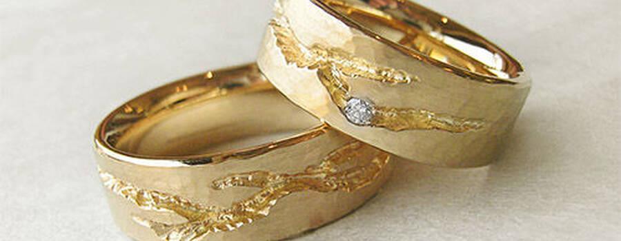 Trauringe hochzeit  Goldwürfel | Trauringe · Hochzeit