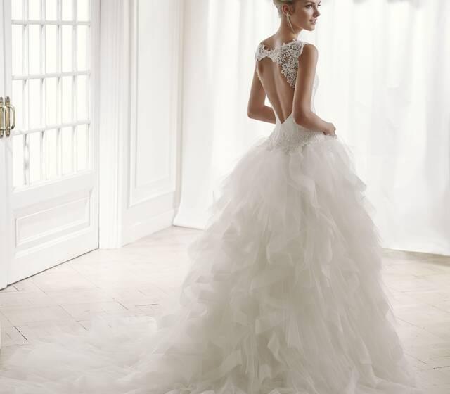SYMPHONIE ivoire ou blanc - collection Un jour, une mariée