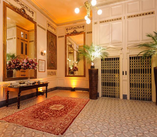 Hall  2º andar - Salão Cristóvão.