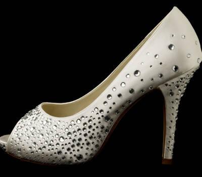Zapato de novia Orvietto