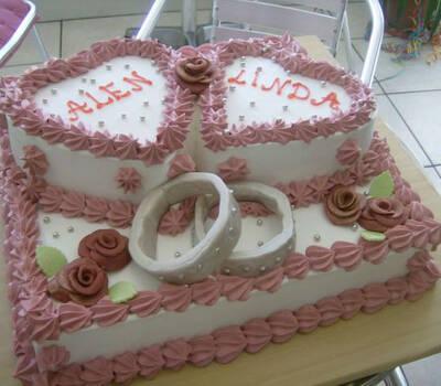 Beispiel: Tortenkunst, Foto: Süsse Überraschungen.