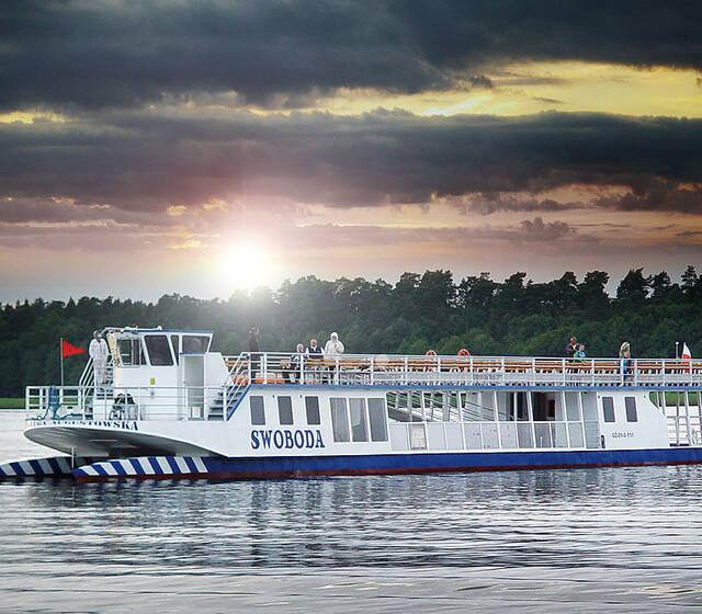 Żegluga Augustowska, wynajem statków na wesele