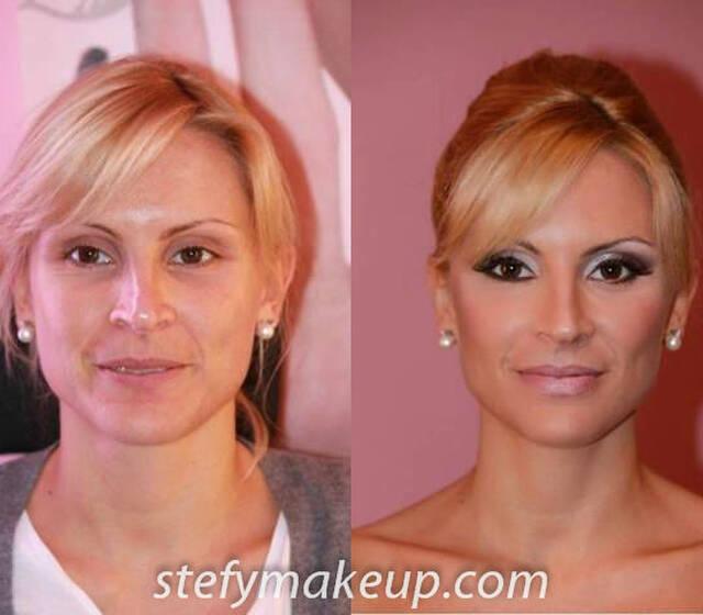 Stefania Bon, make up e acconciatura sposa