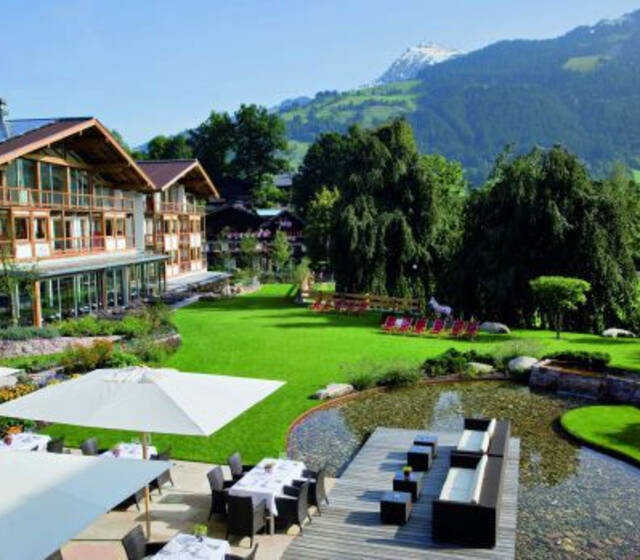 Beispiel: Designhotel in Kitzbühel, Foto: Hotel Kitzhof.