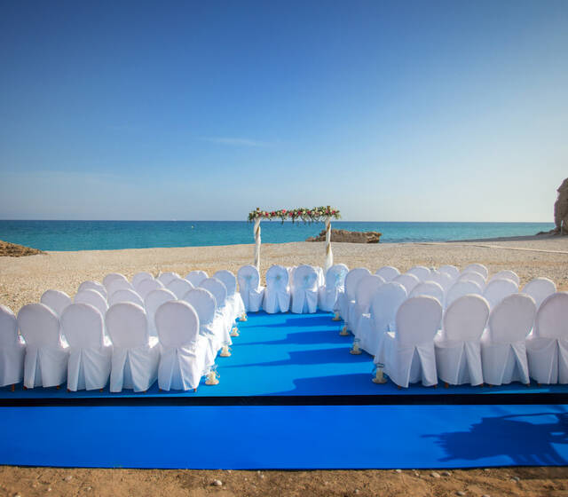 Ceremonias en la playa - Tarima