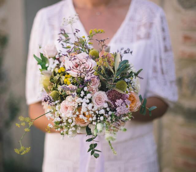C&C - Bouquet de mariée - @jromainphoto