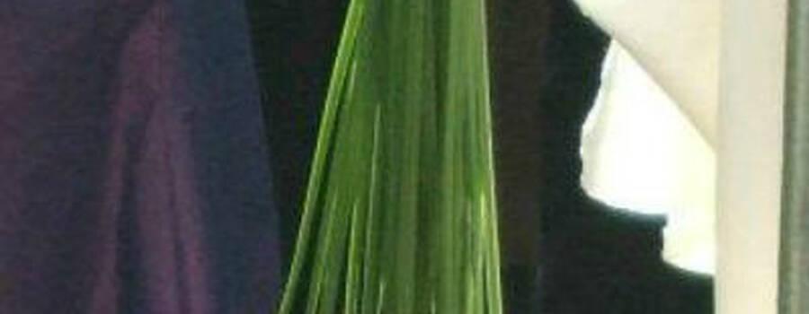Beispiel: Brautstrauß, Foto: Blumenwerkstatt in der Zehntscheuer.