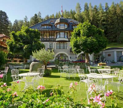 Beispiel: Außenansicht, Foto: Hotel Villa Post.