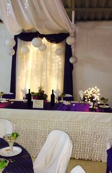mesa de honor