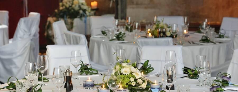 Beispiel: Tischdekoration, Foto: Die Giesserei.