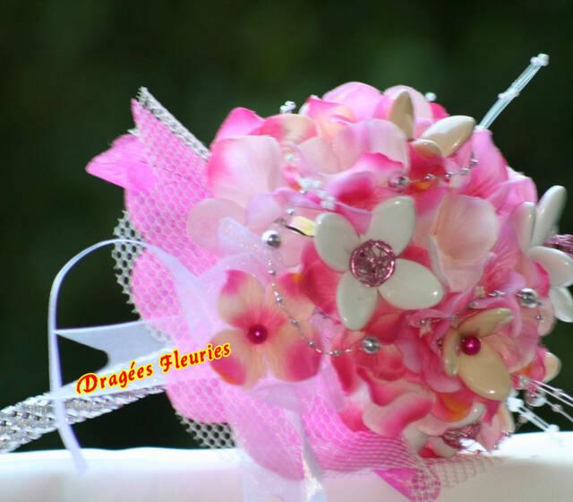 Dragées Fleuries Bouquet de mariée