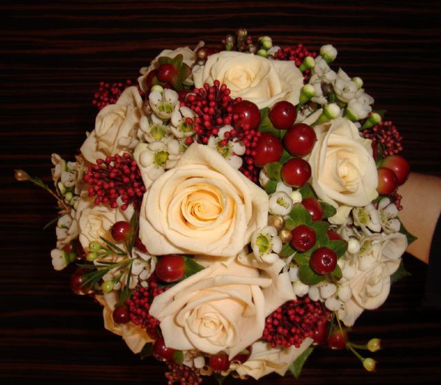 Beispiel: Hochzeitsfloristik, Foto: Blumen Gran.