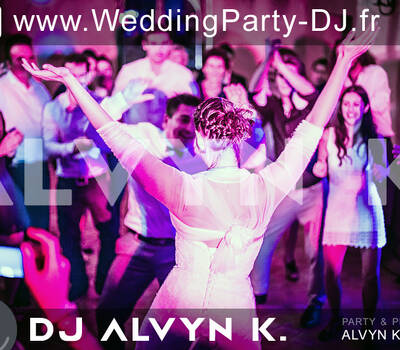 """Alvyn Kaplan Wedding party <a href=""""https://www.weddingparty-dj.fr/"""" target=""""_blank""""><strong>DJ</strong> pour <strong>mariage</strong></a> avec une ambiance musicale & visuelle mémorable ! © photo Alvyn Kaplan"""