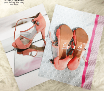 7Hills Shoes customized bridal shoe