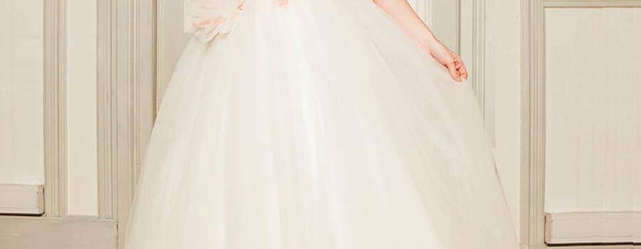 Beispiel: Brautmode, Foto: Alexander Kappen Haute Couture.