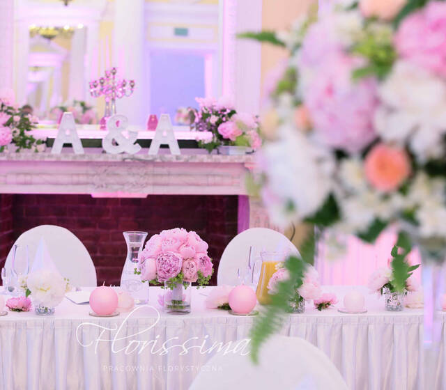 wesele w piwoniach