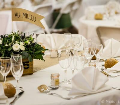 Déco de table  © Laurence Bosc, photographe