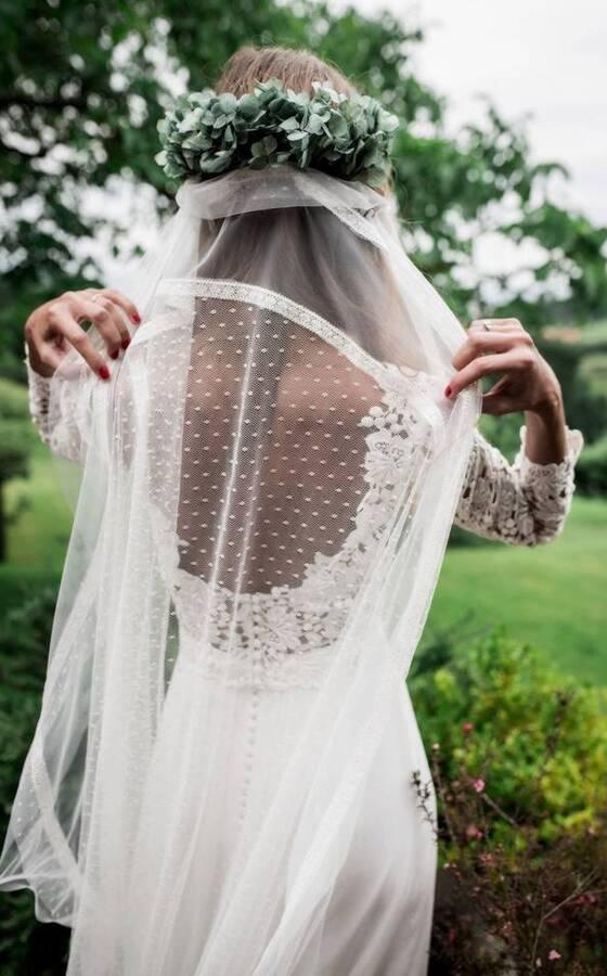 Paredero quiros precio vestido novia