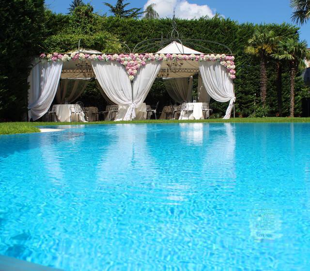 Hotel De La Ville Avellino - La piscina