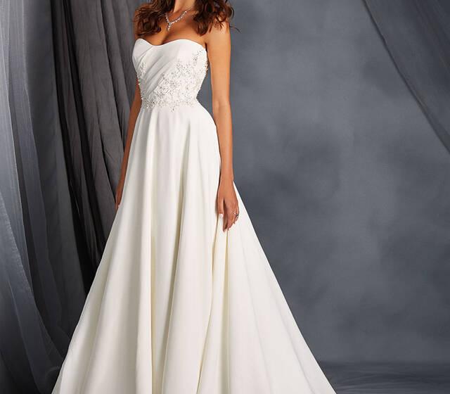 Beispiel: Brautkleid von Alfred Angelo