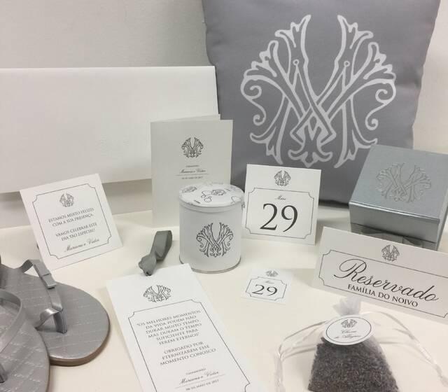 Convite + Papelaria personalizada + Lembranças  :: The Wedding Art
