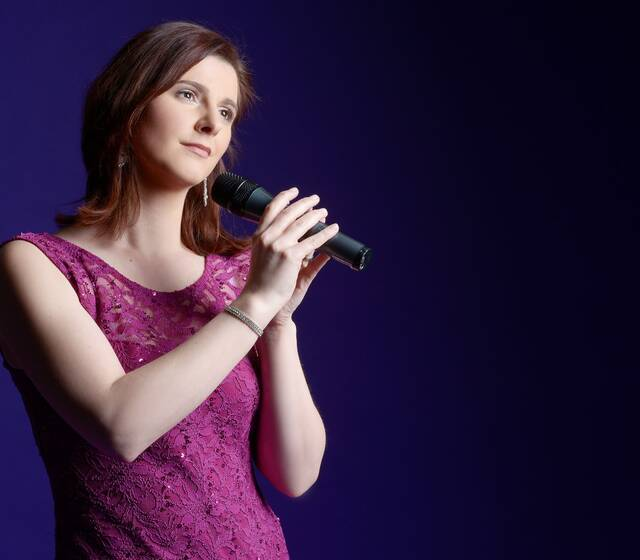 Sängerin Franziska Augustin
