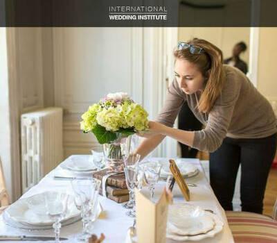 Beispiel: Bei den Vorbereitungen, Foto: International Wedding Institute.