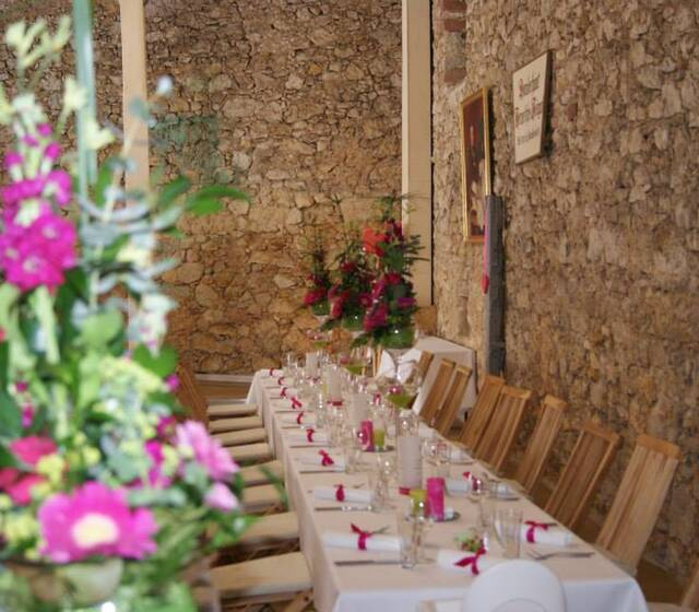 Zehntscheune Schloss Hochheim Hochzeit