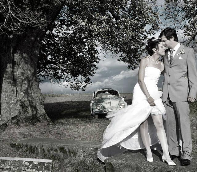 Beispiel: Paar-Shooting, Foto: Julio Flores Photography.