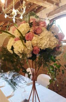 Centre de table des mariées