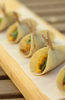 Mini tacos mexicanos