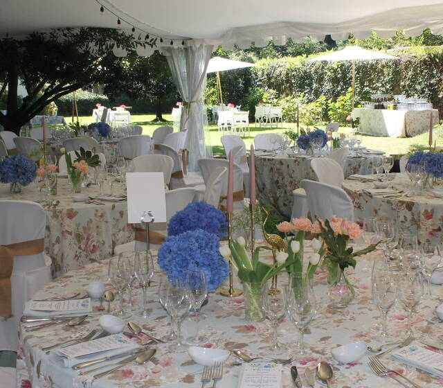 Hotel Casona El Arral.detalle mesa.