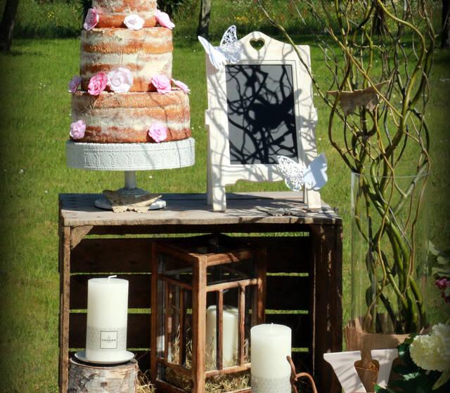 Table champêtre - Création Latyana Evénements - crédit photo : Ch'Art'Line Photos